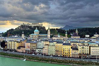 Altstadt Salzburg - Image: Salzburger Altstadt 02b