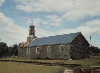 Lemuy Island - Church in San Agustín