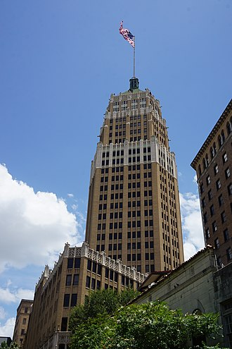 Tower Life Building - Image: San Antonio River Walk July 2017 23 (Tower Life Building)