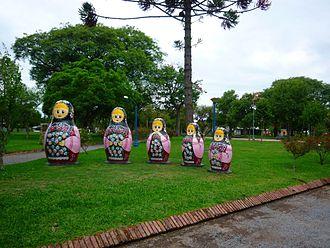 San Javier, Uruguay - Plaza de la Libertad, San Javier
