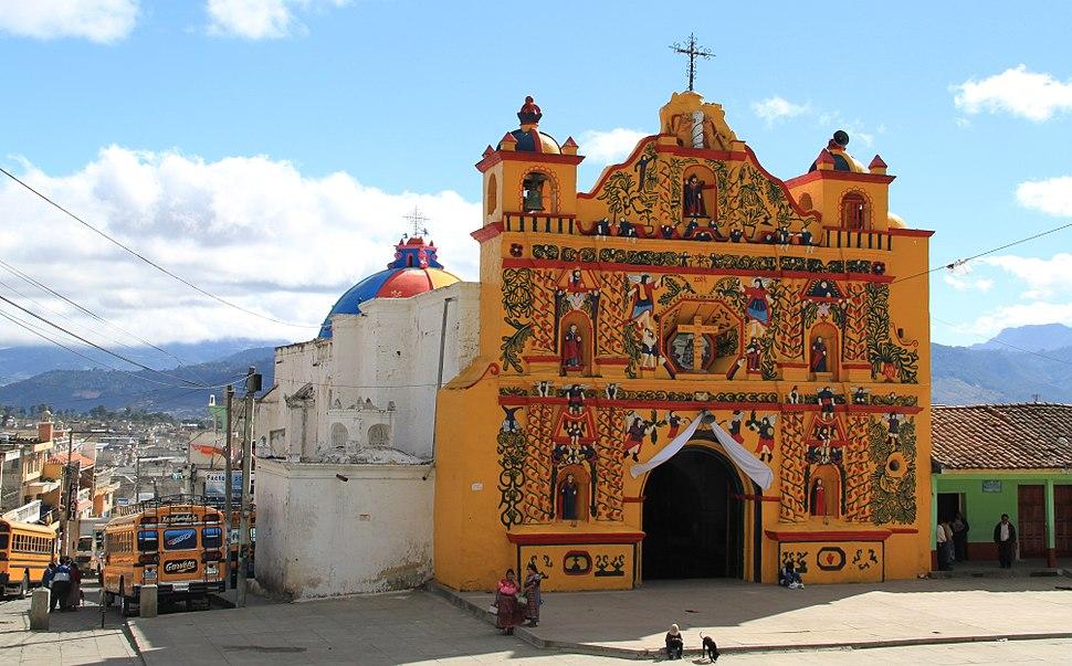 San andres xecul church 2009
