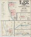 Sanborn Fire Insurance Map from Lee, Berkshire County, Massachusetts. LOC sanborn03762 001-1.jpg