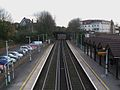 Sanderstead station high southbound.JPG