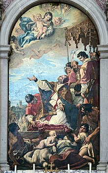 Santa Giustina (Padua) - St. Gregory the Great by Sebastiano Ricci.jpg