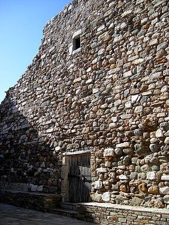 Marco I Sanudo - Ruins of Sanudo's keep in the kastro of Naxos.
