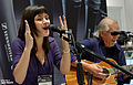 Sara Niemietz at NAMM 1-23-2014 -5 (12179044593).jpg