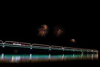 Saraighat - Image: Saraighat Bridge 50 Years by Vikramjit Kakati