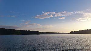 Sasthamcotta Lake - Image: Sasthamcotta Lake 2 by Arun Electra