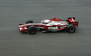 Takuma Sato - Sato at the 2008 Malaysian Grand Prix.