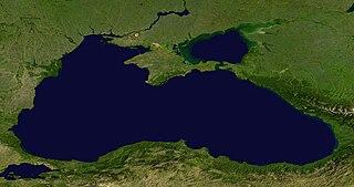 Das Schwarze Meer aus dem Weltall