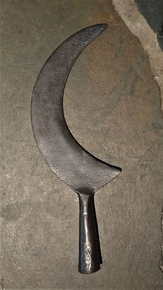 War scythe - 17th century Scottish war scythe