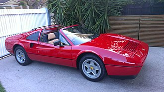 Ferrari 328 - 1987 328 GTS, with original concave wheel design.