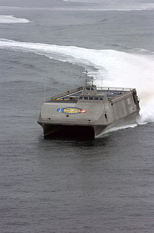 Office of Naval Research - Sea Fighter (FSF-1), August 2005.