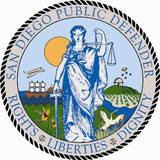 San Diego County Public Defender - Image: Seal of the San Diego Public Defender