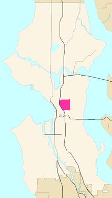 Virginia Mason Seattle Map.First Hill Seattle Wikipedia