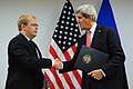 Secretary Kerry Shakes Hands With Estonian Foreign Minister Paet (11191940666).jpg