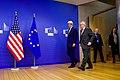 Secretary Kerry Walks With European Commission President Juncker at EC Headquarters in Brussels, Belgium (25420864333).jpg