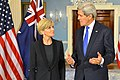 Secretary Kerry and Australian Foreign Minister Bishop Address Reporters January 2015.jpg