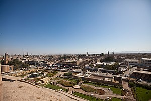 View from the Herat Citadel, in Afghanistan.