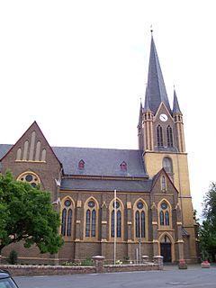 Seitenansicht St. Evergislus Bornheim-Brenig (Rheinland)