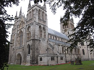 Selby - Image: Selby Abbey