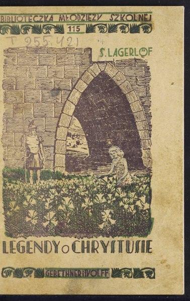 File:Selma Lagerlöf - Legendy o Chrystusie.djvu