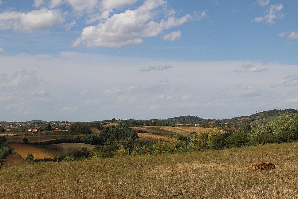 Selo Blizonje - opština Valjevo - zapadna Srbija - Panorama 2