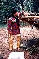 Seminole Tribe of Florida Chairman James Billie at the 1985 Florida Folk Festival- White Springs, Florida (7773104596).jpg