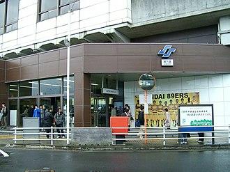 Tomizawa Station - Tomizawa Station in March 2007