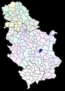 ražanj srbija mapa Opština Ražanj — Vikipedija, slobodna enciklopedija ražanj srbija mapa