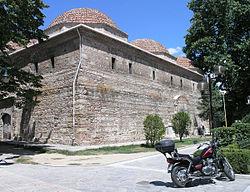To Αρχαιολογικό Μουσείο Σερρων. Στεγάζεται σε κτήριο της Οθωμανικής περιόδου