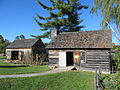 Settlers House and Barn, Shelburne Museum, Shelburne VT.jpg