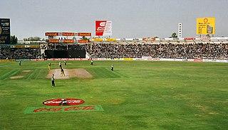 Sharjah Cricket Stadium Test cricket stadium in the United Arab Emirates