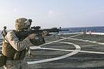 Sharpened Steel, 15th MEU Marines practice shooting 151031-M-GC438-009.jpg