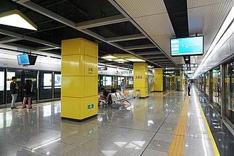 Shawei station - Image: Shawei Station Platform