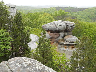 Shawnee National Forest - Scenic View