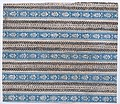 Sheet with five borders with blue and black abstract patterns Met DP886476.jpg
