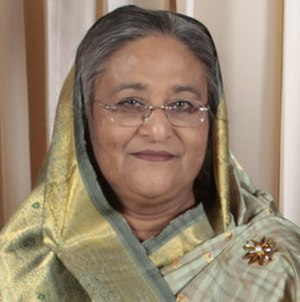 Leader of the House (Bangladesh) - Image: Sheikh Hasina 2009 cropped
