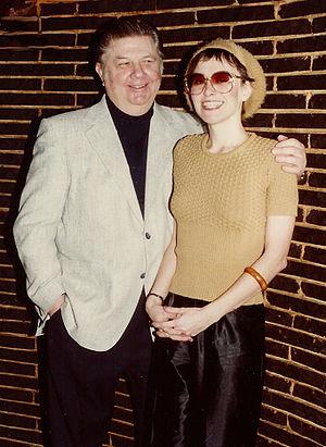 Sheila Landis - Detroit vocalist Sheila Landis with Baker's Keyboard Lounge owner Clarence Baker