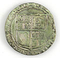 Shilling of James I - Counterfeit (YORYM-1995.109.35) reverse.jpg