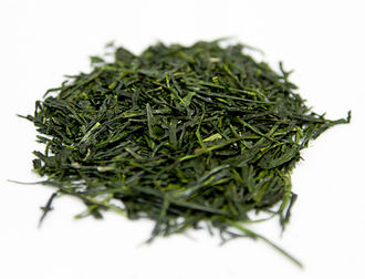 Sencha - Shincha tea leaves