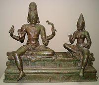 Imagem de Shiva, em bronze