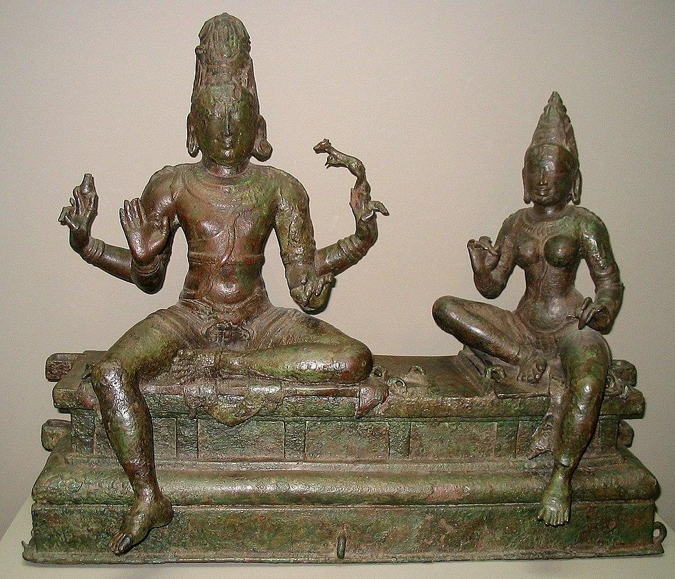 Shiva and Uma 14th century