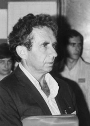 Shmuel Agmon - Shmuel Agmon in Nice (1970)