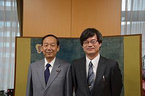 Hiroshi Amano - with Shun'ichi Yamaguchi (on November 12, 2014)