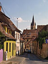 Sibiu street scene TB1