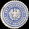 Siegelmarke Amt Geschendorf - Kreis Segeberg W0221004.jpg