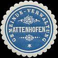 Siegelmarke Gemeinde-Verwaltung Attenhofen W0351984.jpg
