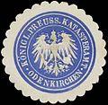 Siegelmarke K.Pr. Katasteramt Odenkirchen W0387087.jpg