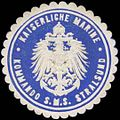 Siegelmarke K. Marine Kommando S.M.S. Stralsund W0357682.jpg